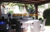 In.terrasse in front kitchen con bbq